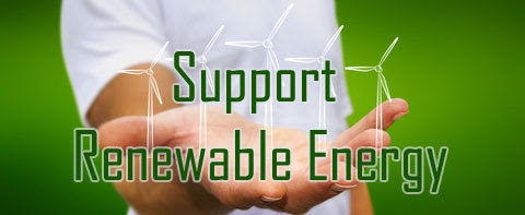 Support Renewable Energy