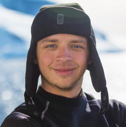 Danny Copeland, Underwater Multimedia Specialist