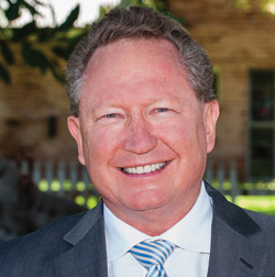 """Andrew """"Twiggy"""" Forrest, Fortescue Metals Flourishing Oceans Minderoo Foundation"""