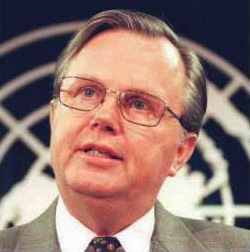 Hans Corell - Ambassador (RET) Under Secretary General for Legal Affairs and the Legal Council for the United Nations